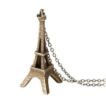 3D Printed Landmark Necklaces- Elffel Tower