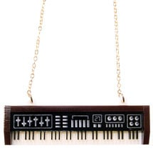 Keyboard Necklace