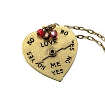 Love Me, Love Me Not Pendant