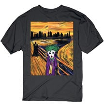 Abstract Superhero Tees- The Joker
