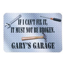 Personalized Garage Mat