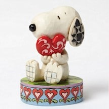 Heartwood Creek Big Love Snoopy Figurine