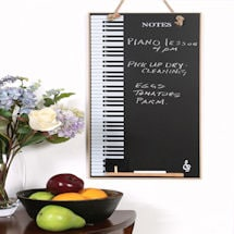 Piano Keys Chalkboard