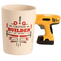 Handyman Tool Mugs- Power Drill