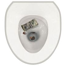 Toilet Tattoos- Money
