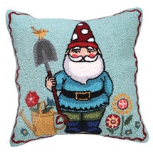 Gnome Pillows- Polka-Dot Red Hat