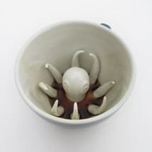 Ceramic Creature Cups- Octopus