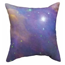 Galactic Pillow - Purple Galaxy