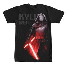 Star Wars Imperial Force Tees- Kylo Ren