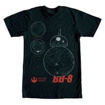 Star Wars Imperial Force Tees- Bb-8