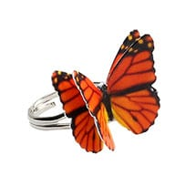 Butterfly Ring- Monarch