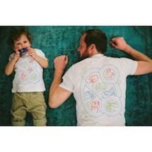 Car Mat Play Shirt Set (Adult+ Kid)