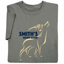 "Personalized ""Your Name""Hunt Club (Deer) T-Shirt"