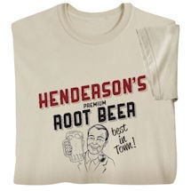 "Personalized ""Your Name"" Premium Root Beer T-Shirt"