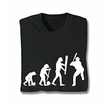 Evolution Of Sport- Baseball Tee