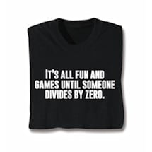 Divide By Zero Shirts