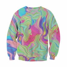 Color Swirl Sublimated Sweatshirt