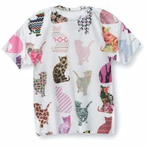 Comic Cat Sublimated T-Shirt