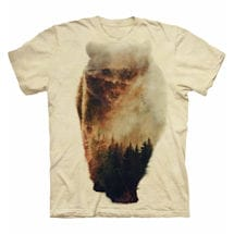 Forest Animal Tee - Bear