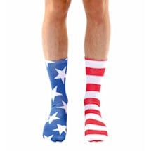 Stars & Stripes Crew Sock