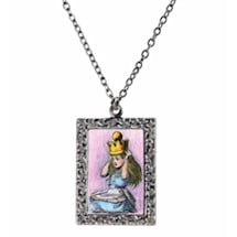 Alice In Wonderland Necklace Set