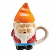 Lidded Gnome Mug