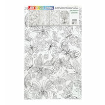Joy Of Coloring Poster - Enchanted Gardens Set Of 4