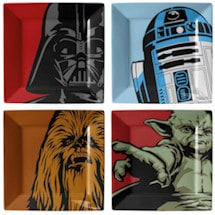 Star Wars Iconic Characters Plate Set