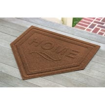 Homeplate Floor Mat