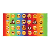 Emojicon Beach Towel