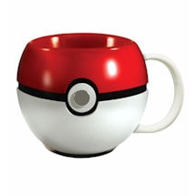Pokeball Ceramic Mug