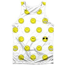 Smiley Pattern Sublimated Tank