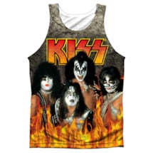 Kiss Through The Fire Sublimated Tank
