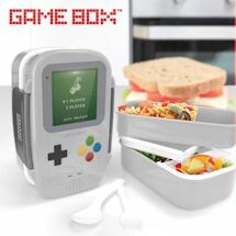 Retro Gadget Lunch Boxes- Game Box