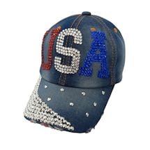 Bling USA Baseball Hat