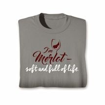 Wine Notes T-Shirt- Merlot