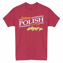 Just Add… Heathered Heritage Tees- Polish