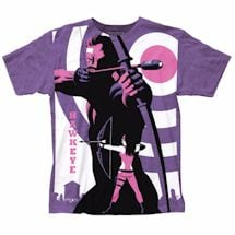 Marvel Art Deco Hawkeye T-Shirt
