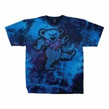 Grateful Dead Dancing Blue Bear Tee