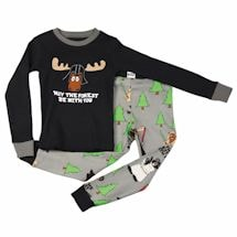 May The Forest Be With You Kid's Pj Set