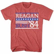Vintage Campaign Tees- Reagan/Bush