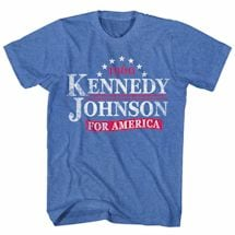 Vintage Campaign Tees- Kennedy/Johnson