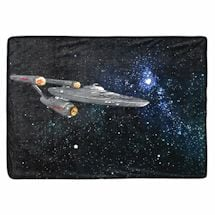 Star Trek Glitter Fleece Throw