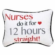 Hardworking Nurses Pillow