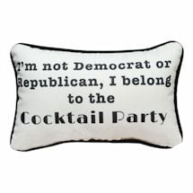 Cocktail Party Pillow
