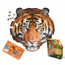 550 Piece Giant Animal Puzzles- Tiger