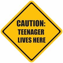 Family Caution Signs- Teenager