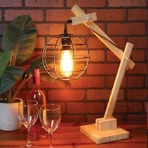Retractable Arm Industrial Lamp