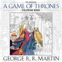 Adult Coloring Books- Game Of Thrones