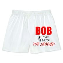 Bob The Man The Myth The Legend Boxers